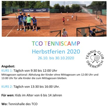 TENNISCAMP HERBST